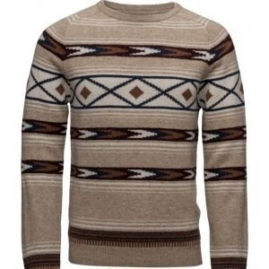 Lexington Company Tristan Ikat Sweater pyöreäaukkoinen neule