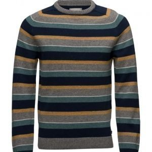 Lexington Company Tristan Striped Sweater pyöreäaukkoinen neule