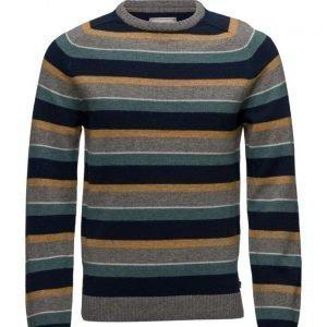 Lexington Company Tristan Striped Sweater pyöreäaukkoinen neule