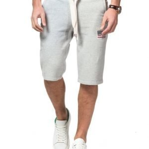 Lexington James Jersey Shorts Warm Grey Melange