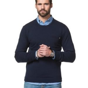 Lexington Jeff Crew Neck Sweater Deep Marine Blue