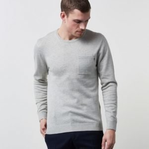 Lexington Jeff Crewneck Light Warm Grey Melange