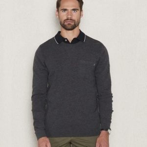 Lexington Jeff Crewneck Sweater Anthracite Gray