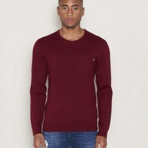 Lexington Jeff Crewneck Sweater Cabernet Wine Red