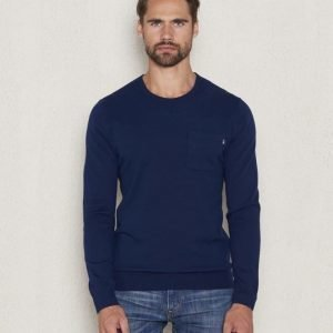 Lexington Jeff Crewneck Sweater Deepest Blue