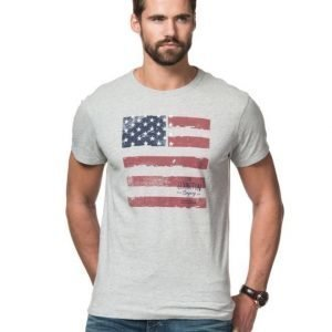 Lexington Justin Tee Light Warm Grey Melange
