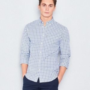 Lexington Kyle Oxford Shirt Blue/White Check