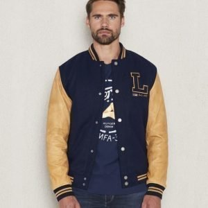 Lexington Quincy Baseball Jacket Deepst Blue