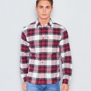 Lexington Tommy Flannel Shirt Red Multi Check