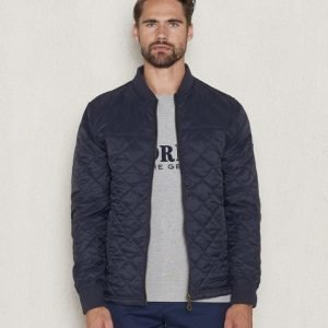 Lexington Tyler Quilted Jacket Deepest Blue