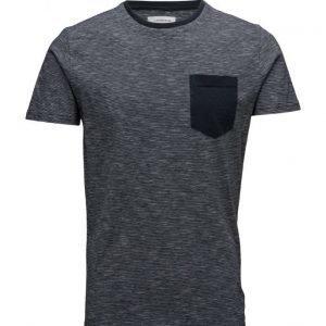 Lindbergh Stripedo-Necktees/S lyhythihainen t-paita