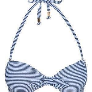 Lindex Bandeau Bikiniyläosa Sininen