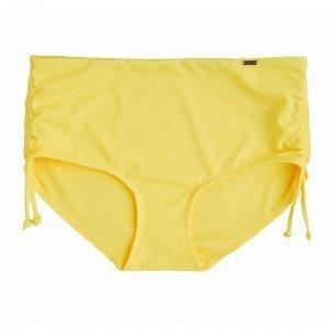 Lindex Classic Midi Bikinihousut Keltainen