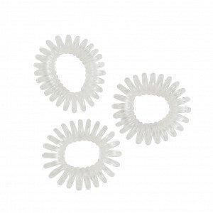 Lindex Hiuslenkit Valkoinen 3 Kpl