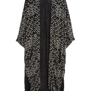 Lindex Kimono Tencel Sekoitetta Musta