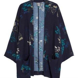Lindex Kimonotakki Sininen