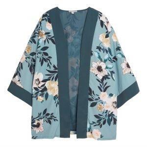 Lindex Kukallinen Kimono Sininen