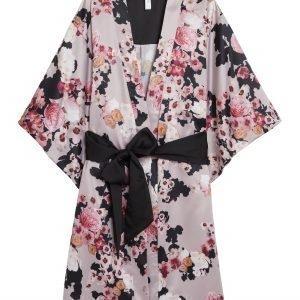 Lindex Kukallinen Kimono Vaaleanpunainen