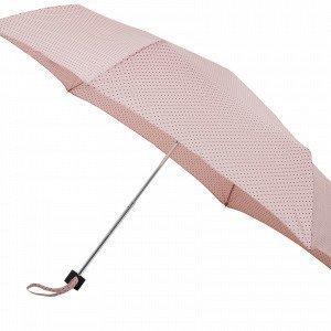 Lindex Kuvioitu Sateenvarjo Vaaleanpunainen