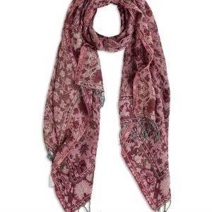 Lindex Kuviollinen Hapsuhuivi Vaaleanpunainen