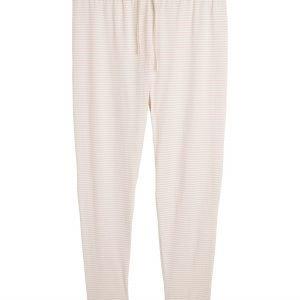 Lindex Pyjamahousut Vaaleanpunainen
