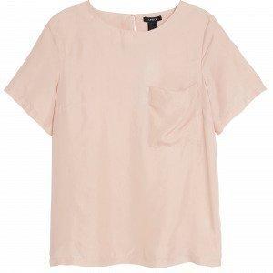 Lindex Silkkipusero Vaaleanpunainen