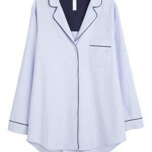 Lindex Siniraitainen Pyjamatakki Sininen