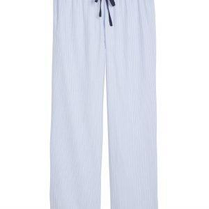 Lindex Siniraitaiset Pyjamahousut Sininen