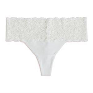 Lindex Thong Tangat Regular Valkoinen