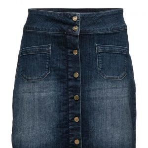 Line of Oslo Skirt Denim lyhyt hame