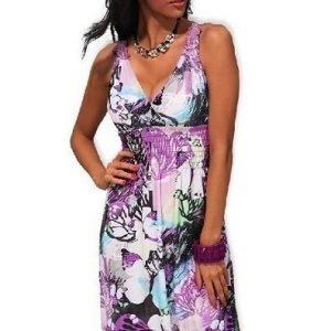 Lisa violetti mekko (plus size)