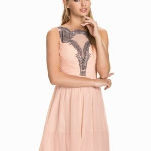 Little Mistress Keyhole Skater Dress