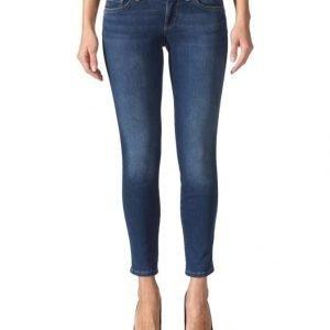 Liu Jeans Bottom Up Shiny Regular Waist Farkut