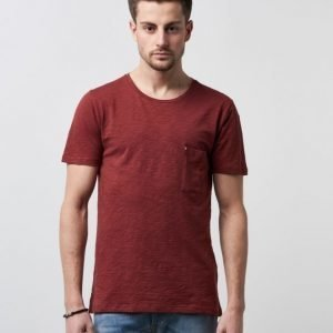 Ljung by Marcus Larsson Slub Tee Dark Rust Red