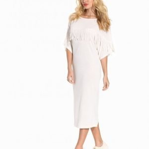 Lollys Laundry Opium Dress Loose Fit Mekko Creme