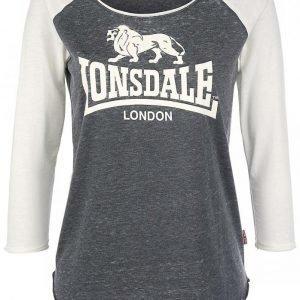 Lonsdale London Ellesmere Burnout Naisten Pitkähihainen Paita