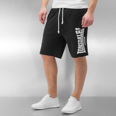Lonsdale London Shortsit Musta