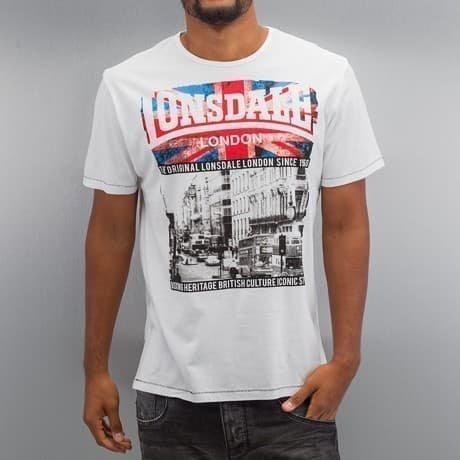 Lonsdale London T-paita Valkoinen