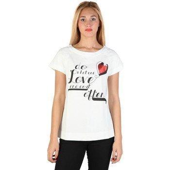 Love Moschino W_4_E95_01_M_3477 lyhythihainen t-paita