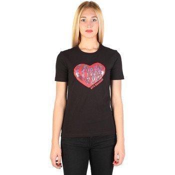 Love Moschino W_4_F14_07_E_1512 lyhythihainen t-paita