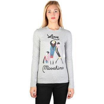 Love Moschino W_4_F43_07_M_3590 pitkähihainen t-paita