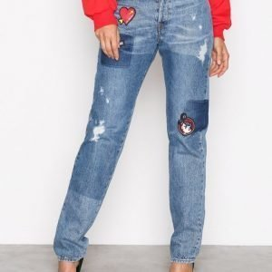 Love Moschino Wq41080t9138 Straight Farkut Denim