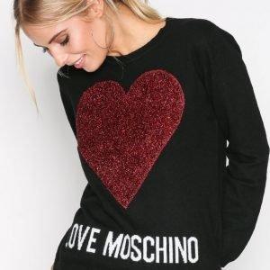 Love Moschino Ws89g01x0683 Neulepusero Black