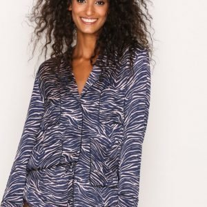 Love Stories Bluemoon Pyjama Shirt Pyjama Zebra