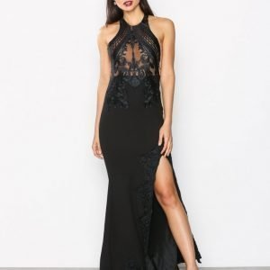 Love Triangle Gandeur Maxi Dress Maksimekko Black