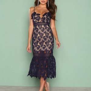 Love Triangle Hyper Romance Dress Kotelomekko Navy