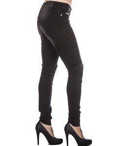 Lucy Super Slim Stud Black