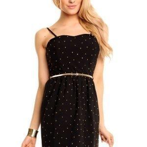 LucyCo musta mekko vyöllä