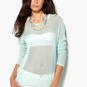 Luxe by VILA Tappy Knit Top Brook Green