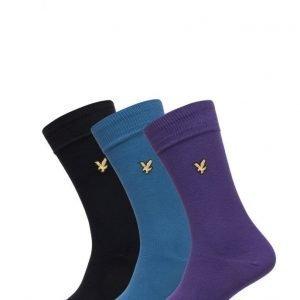 Lyle & Scott 3 Pack Vintage Sock nilkkasukat